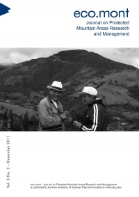 eco.mont – Journal on Protected Mountain Areas Research and Management