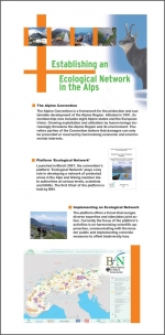 Poster - Activities of the Platform Ecological networks