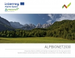 ALPBIONET2030 - Spatial analysis and perspectives of (ecological) connectivity in the wider Alpine areas